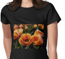 Unique Beauty - Flower Art Womens Fitted T-Shirt