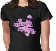 The Entire Dog Population Womens Fitted T-Shirt