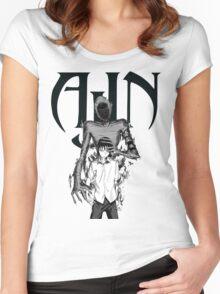 Ajin - Demi Human Anime Women's Fitted Scoop T-Shirt