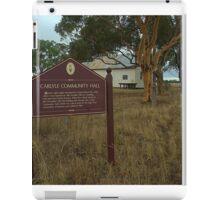 Carlyle Community Hall iPad Case/Skin