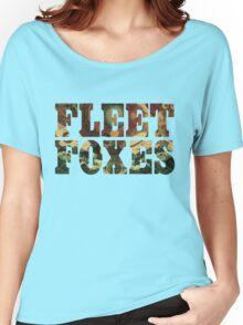 Fleet Foxes Logo Women's Relaxed Fit T-Shirt