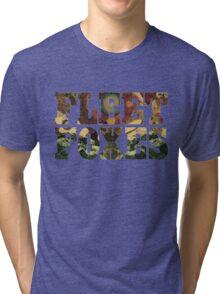 Fleet Foxes Logo Tri-blend T-Shirt