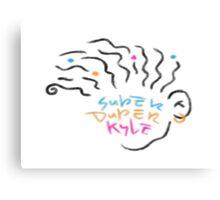 Super Duper Kyle Logo  Canvas Print