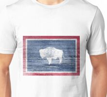 Wyoming Flag Unisex T-Shirt