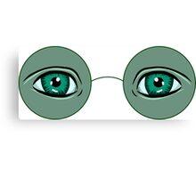 Glasses Great Gatsby Canvas Print