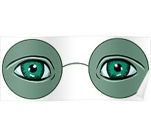 Glasses Great Gatsby Poster