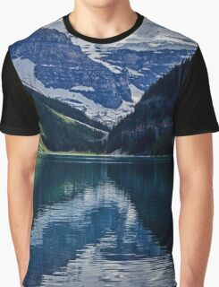 Reflections Of Lake Louise - Banff National Park Graphic T-Shirt