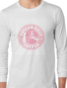 Metalocalypse Coffee - Pink Long Sleeve T-Shirt