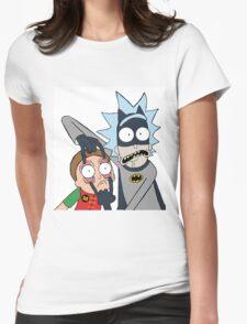 Batman Rick Womens Fitted T-Shirt