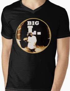 Big L Mens V-Neck T-Shirt