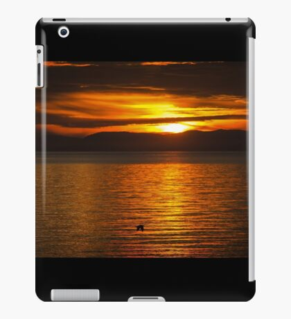 Where You Are Right Now - Sunset Art iPad Case/Skin