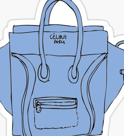 Blue bag Sticker