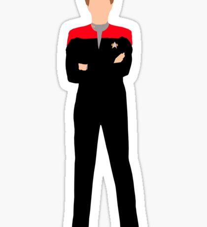 Star Trek - Minimalist Janeway Sticker