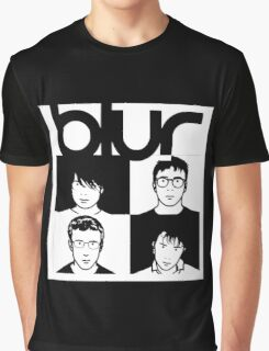 Blur band Graphic T-Shirt