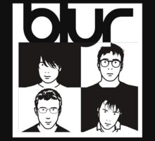 Blur band One Piece - Short Sleeve