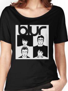 Blur band Women's Relaxed Fit T-Shirt