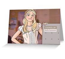 Buffy Summers Greeting Card