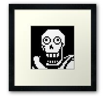Undertale Papyrus  Framed Print