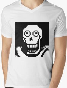 Undertale Papyrus  Mens V-Neck T-Shirt