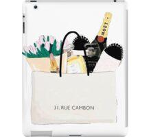 Shopping {31, Rue cambon} iPad Case/Skin