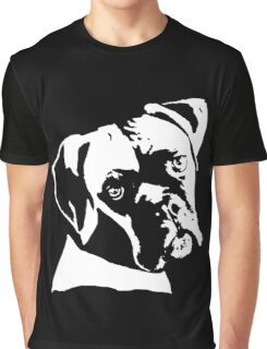Boxer Dog Pillow Graphic T-Shirt