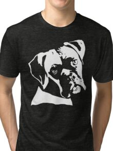 Boxer Dog Pillow Tri-blend T-Shirt