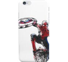Spider Man Civil War iPhone Case/Skin
