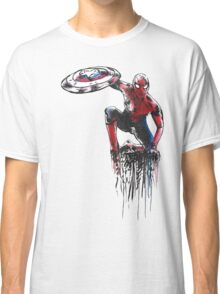 Spider Man Civil War Classic T-Shirt