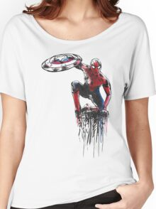Spider Man Civil War Women's Relaxed Fit T-Shirt