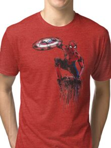 Spider Man Civil War Tri-blend T-Shirt