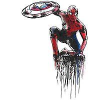 Spider Man Civil War Photographic Print