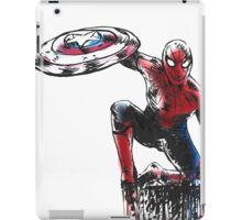Spider Man Civil War iPad Case/Skin