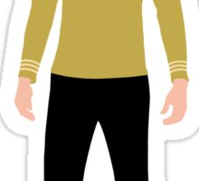 Star Trek - Minimalist Kirk Sticker