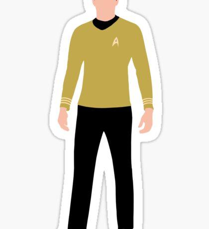 Star Trek - Minimalist Kirk Sticker