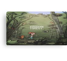 Viridian Forest Pokemon  Canvas Print