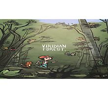 Viridian Forest Pokemon  Photographic Print