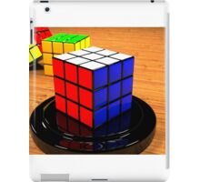 3D Rubiks Cube iPad Case/Skin