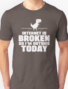 The Internet Is Broken Unisex T-Shirt