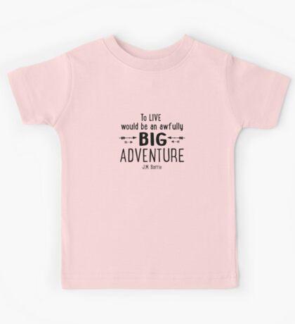 Live is A Big Adventure Kids Tee