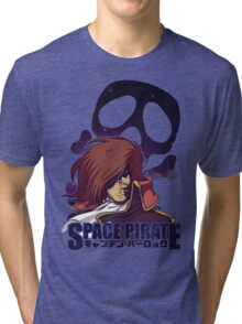 Space Pirate 04 Tri-blend T-Shirt