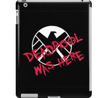 was here iPad Case/Skin