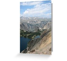 Beartooth Highway Greeting Card