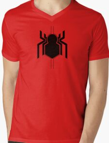 Spider-Man Mens V-Neck T-Shirt