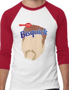 Abraham Bisquik Men's Baseball ¾ T-Shirt