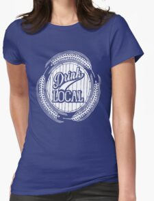 Drink Local Womens Fitted T-Shirt