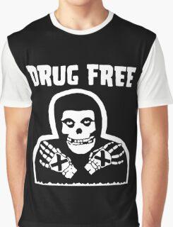 Drug Free Graphic T-Shirt