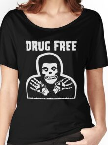 Drug Free Women's Relaxed Fit T-Shirt