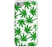 Alabama (AL) Weed Leaf Pattern iPhone Case/Skin