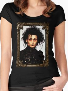 Edward Scissorhands Women's Fitted Scoop T-Shirt