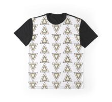 Rad Retro Triangles   Graphic T-Shirt